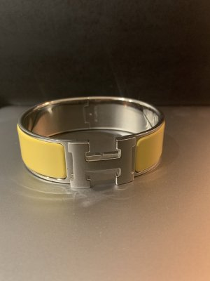 Hermès Bangle silver-colored-yellow