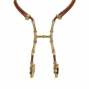 Hermes Bambou Halter Necklace