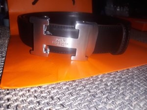 Hermès Cintura nero
