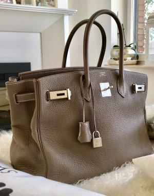 Hermès Frame Bag beige leather