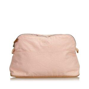 Hermès Pouch Bag pink cotton