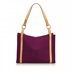 Hermes Cabalicol Canvas Tote Bag