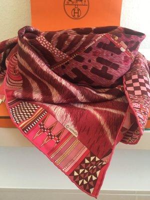 Hermès Zijden sjaal roze
