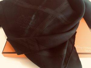 Hermès Bufanda de seda negro