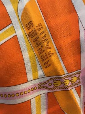 Hermès Doek veelkleurig Gemengd weefsel