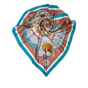 Hermes Casques et Plumets Scarf
