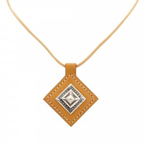 Hermes Charm Pendant Necklace