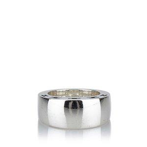 Hermès Anello argento Argento