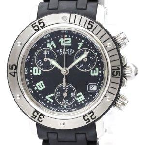 Hermes Clipper Diver Chronograph Quartz Womens Watch