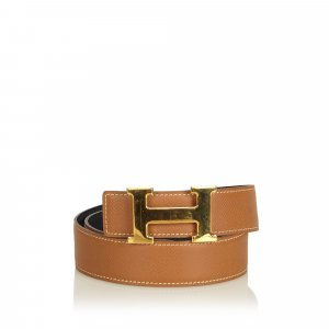 Hermès Belt brown leather