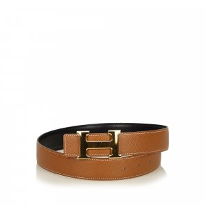 Hermès Cintura marrone Pelle