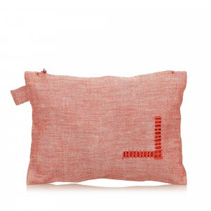 Hermes Cotton Pouch