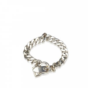 Hermes Curb Chain Buckle Bracelet