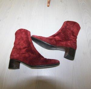 Hermés Designer Wildleder Stiefeletten High Heels Boots