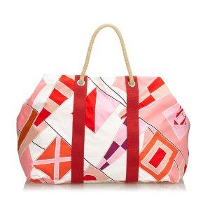 Hermes Drapeaux Au Vent Travel Bag
