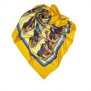 Hermes Ecuries Silk Scarf