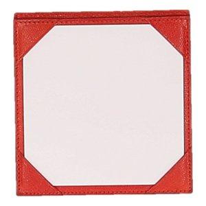 Hermès Écritoire rouge-doré cuir