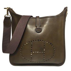Hermès Evelyne Barenia Leder Vert Olive Handtasche Tasche Schultertasche