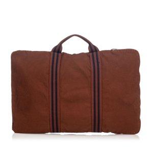 Hermès Borsa da viaggio marrone