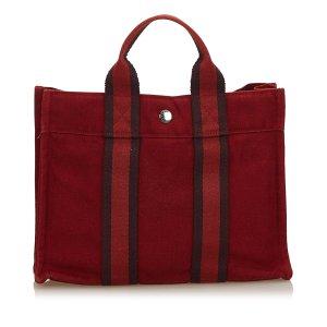 Hermès Tote red