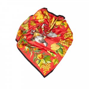Hermes Fructidor Silk Scarf