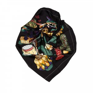 Hermes Gastronomie Silk Scarf