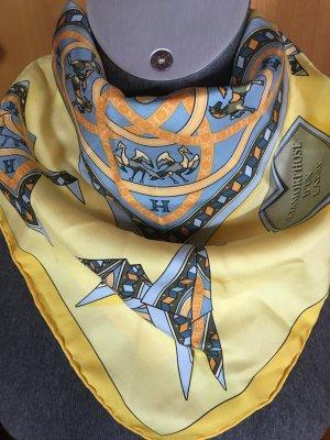 Hermès Écharpe en soie multicolore