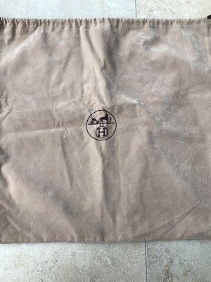Hermès Canvas Bag grey brown