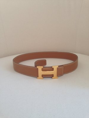 Hermes Gürtel H- schließe Gold