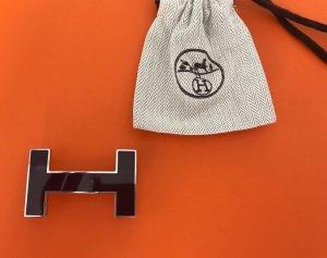 Hermès Gürtelschließe * dunkelrot * 100% Original * wie Neu!