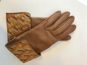 Hermes Handschuhe Leder carmel