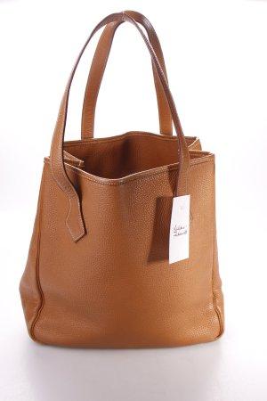 Hermès Handtasche cognac schlichter Stil