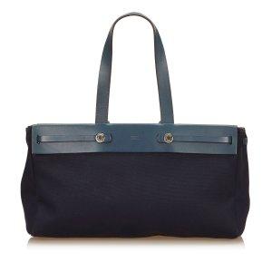 Hermès Bolsa de hombro azul