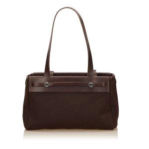 Hermès Sac fourre-tout brun foncé