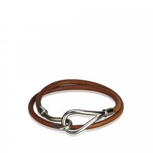 Hermes Jumbo Hook Double Tour Bracelet