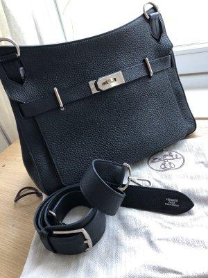 Hermès Jypsiere Leder Cross Body '34 clémence noir