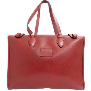 Hermès Sac fourre-tout rouge cuir