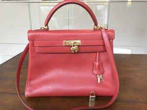 HERMES Kelly Bag Original Farbe Rouge