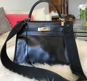 Hermès Kelly Bag schwarz 30 cm