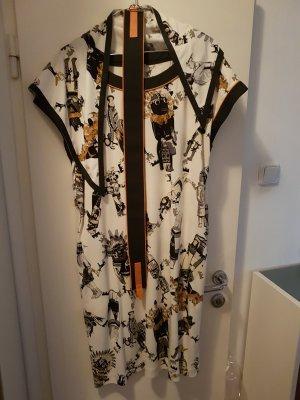 Sheath Dress multicolored cotton