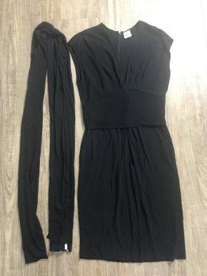 Hermes Kleid schwarz Gr 40