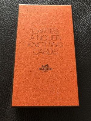 Hermès Doek donker oranje