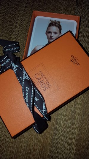 Hermes Knotting Cards, Original, Top Zustand