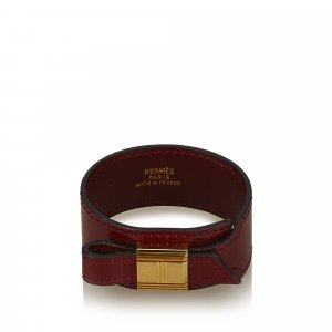 Hermes Leather Artemis Bracelet