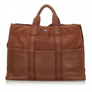 Hermes Leather Base Fourre Tout MM