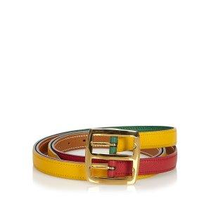 Hermès Cintura rosso Pelle