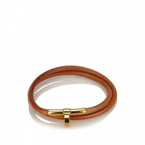Hermes Leather Choker Necklace