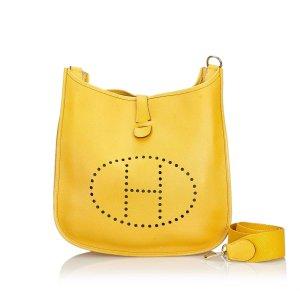 Hermes Leather Evelyne I GM