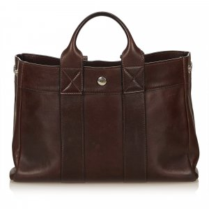 Hermes Leather Fourre Tout PM