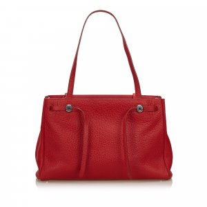 Hermes Leather Herbag Cabas